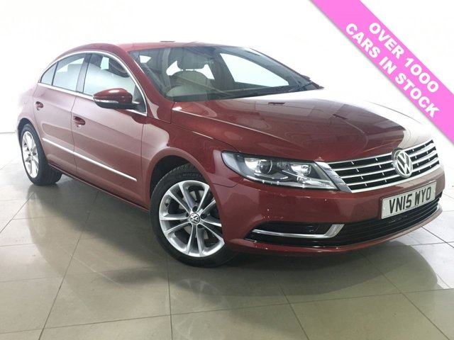 View our 2015 15 VOLKSWAGEN CC 2.0 TDI BLUEMOTION TECHNOLOGY DSG 4d AUTO 138 BHP