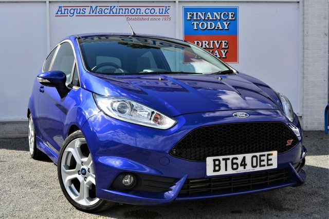 2015 64 FORD FIESTA 1.6 ST-3 Fabulous Sporty Petrol 3d Hot Hatch with 180 BHP Performance