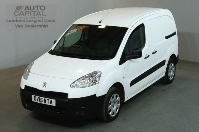 2015 15 PEUGEOT PARTNER 1.6 HDI PROFESSIONAL L1 850 90 BHP AIR CON SWB VAN AIR CONDITIONING / FULL S/H