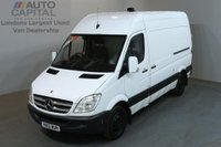 USED 2012 12 MERCEDES-BENZ SPRINTER 2.1 313 CDI MWB 5d 129 BHP H/ROOF RWD VAN ONE OWNER / SIDE & REAR DEADLOCK