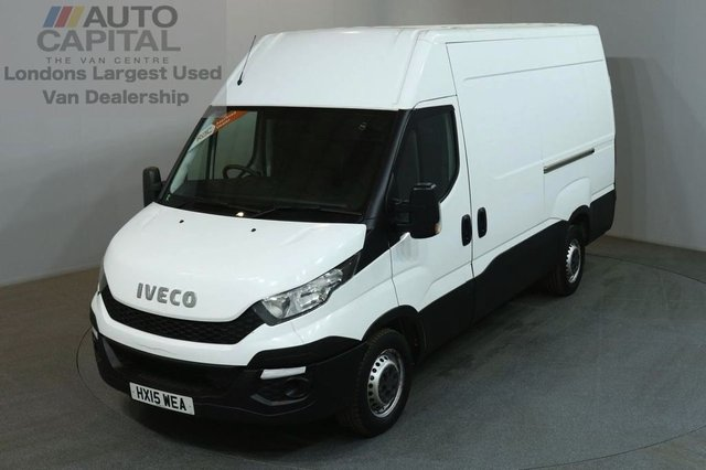 2015 15 IVECO-FORD DAILY 2.3 35S13V 126 BHP L2 MWB H/ROOF PANEL VAN