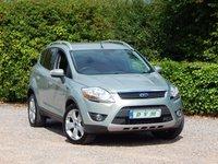 2010 FORD KUGA 2.0 TITANIUM TDCI AWD 5d AUTO 163 BHP £8570.00