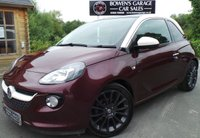 USED 2013 63 VAUXHALL ADAM 1.4 GLAM 3d 85 BHP 2 Owners - 4 Services - Massive Specification