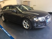 USED 2014 64 AUDI A4 2.0 TDI ULTRA SE TECHNIK 5d 161 BHP SAT NAV, FULL LEATHER , LOW MILEAGE