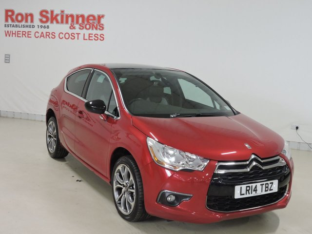View our 2014 14 CITROEN DS4 1.6 E-HDI AIRDREAM DSTYLE 5d 115 BHP