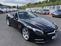 USED 2014 64 MERCEDES-BENZ SL 3.0 SL400 AMG SPORT 2d AUTO 329 BHP AMG Sports Package inc 19 inch wheels & body, glass roof, Airscalf ++