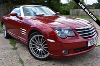 USED 2007 57 CHRYSLER CROSSFIRE 3.2 V6 2d AUTO 215 BHP