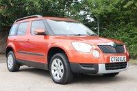 2011 SKODA YETI 2.0 S TDI CR 5d 109 BHP £6450.00