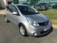 2012 NISSAN NOTE 1.4 ACENTA 43000 miles bluetooth,aircon,alloys etc great little car  £4595.00