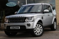 2016 LAND ROVER DISCOVERY 3.0 SDV6 COMMERCIAL SE 1d AUTO 255 BHP £32000.00