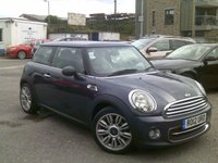 2012 MINI HATCH COOPER 1.6 COOPER 3d 122 BHP £5850.00