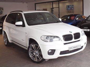 2012 BMW X5 3.0 XDRIVE30D M SPORT 5d AUTO 241 BHP £19850.00