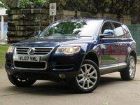 2007 VOLKSWAGEN TOUAREG 3.0 V6 SE TDI 5d AUTO 221 BHP £7711.00