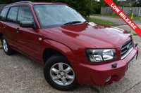 USED 2005 05 SUBARU FORESTER 2.0 X ALL WEATHER 5d 125 BHP