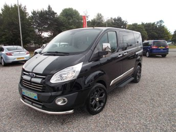 2013 FORD TOURNEO CUSTOM 2.2 300 LIMITED TDCI 5d 153 BHP ( NO VAT )