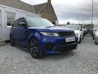 USED 2015 65 LAND ROVER RANGE ROVER SPORT SVR S/C 5.0 V8 Auto 5dr ( 550 bhp ) One Owner From New Full Land Rover Service History Service Plan Ultimate Spec