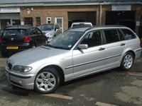 2004 BMW 3 SERIES 1.8 316I SE TOURING 5d 114 BHP £1795.00