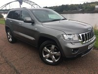 2012 JEEP GRAND CHEROKEE 3.0 V6 CRD LIMITED 5d AUTO 237 BHP £14995.00