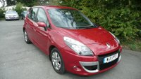 2011 RENAULT SCENIC 1.5 EXPRESSION DCI EDC 5d AUTO 110 BHP £5495.00