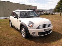 USED 2011 11 MINI CLUBMAN 1.6 ONE 5d 98 BHP 1 OWNER, FULL SERVICE HISTORY, PRISTINE CONDITION!