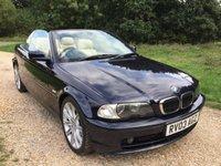 2003 BMW 3 SERIES 2.5 325CI 2d AUTO 190 BHP £3490.00