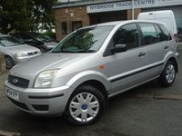 2004 FORD FUSION 1.4 FUSION 2 5d 68 BHP £1395.00