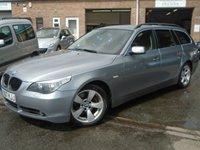2007 BMW 5 SERIES 2.0 520D SE TOURING 5d 161 BHP £2995.00