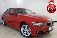 USED 2013 13 BMW 3 SERIES 2.0 318D SPORT 4DR 141 BHP BMW SERVICE HISTORY + BLUETOOTH + PARKING SENSOR + CRUISE CONTROL + MULTI FUNCTION WHEEL + CLIMATE CONTROL + 17 INCH ALLOY WHEELS