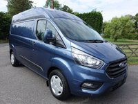 2018 FORD TRANSIT CUSTOM 320 TREND L2 H2 LWB HIGHTOP 2.0 TDCI 130PS £19995.00