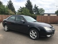 2006 FORD MONDEO 2.0 EDGE 16V 5d 145 BHP VERY CLEAN EXAMPLE  WITH GOOD SERVICE HISTORY £2000.00