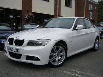2010 BMW 3 SERIES 2.0 318D M SPORT 4d 141 BHP £6495.00