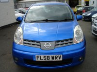 USED 2008 58 NISSAN NOTE 1.4 ACENTA 5d 88 BHP