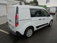 USED 2016 16 FORD TRANSIT CONNECT 1.5 TDCI, 220 SWB TREND, 5 SEATER CREW VAN, HIGH SPEC, ONLY 18k F.S.H, 07/2019 FORD WARRANTY