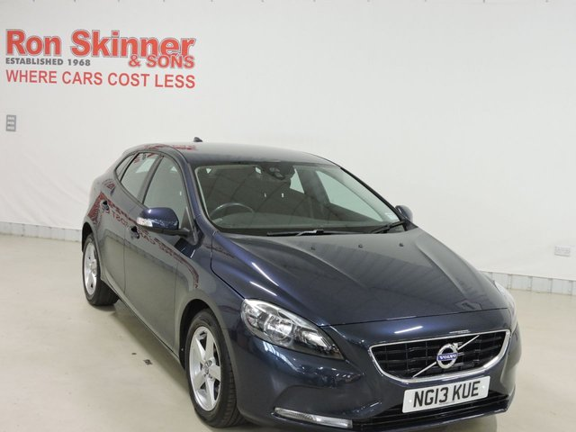 View our 2013 13 VOLVO V40 (132)   1.6 D2 ES 5d 113 BHP with rear park assist