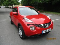 USED 2016 16 NISSAN JUKE 1.6 VISIA 5d 94 BHP ABSOLUTELY STUNNING EXAMPLE WITH ONLY 17,000 MILES !!
