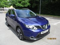 USED 2015 65 NISSAN QASHQAI 1.5 DCI TEKNA 5d 108 BHP WAS £13,295 NOW ONLY £12,795 !!