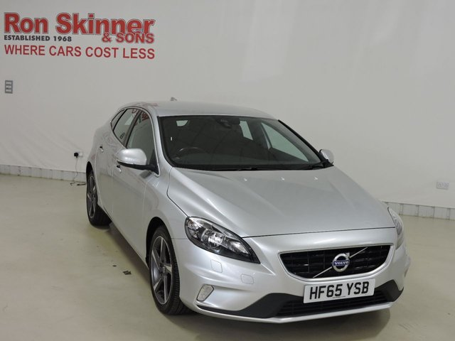 View our 2015 65 VOLVO V40 2.0 T2 R-DESIGN 5d 120 BHP with rear park assist