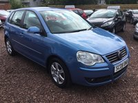 USED 2008 08 VOLKSWAGEN POLO 1.2 MATCH 5d 68 BHP