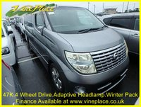 2005 NISSAN ELGRAND  Highway Star 3.5 4WD Automatic,8 Seats,47K,Power Door £8500.00