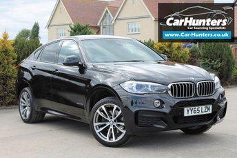 2015 BMW X6 3.0 XDRIVE40D M SPORT 4d AUTO 309 BHP £34995.00