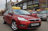 USED 2009 59 FORD FOCUS 1.8 STYLE 5d 125 BHP