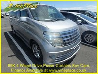 2003 NISSAN ELGRAND Rider 3.5 4WD Auto 8 Seats, Leather, Power Curtains,Reverse Camera £7000.00