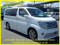 2003 NISSAN ELGRAND Rider Autec 3.5 Automatic 8 Seats Full Leather, Only 55K £6500.00