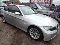 USED 2006 06 BMW 3 SERIES 2.0 320D SE 4d AUTO 161 BHP REAR PARKING SENSORS, CD PLAYER, GREAT VALUE