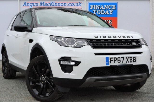 2017 67 LAND ROVER DISCOVERY SPORT 2.0 TD4 HSE BLACK EDITION 4x4 AUTO Fabulous Looking Very High Spec 7 Seat Family SUV