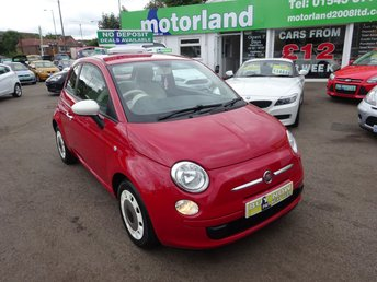 2013 FIAT 500 1.2 COLOUR THERAPY 3d 69 BHP £5300.00
