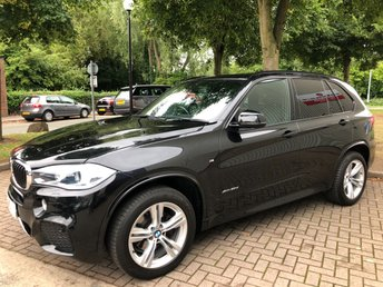 2014 BMW X5 3.0 XDRIVE30D M SPORT 5DR AUTO 255 BHP £29991.00