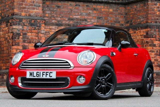 2011 61 MINI COUPE 1.6 Cooper (Chili) 2dr