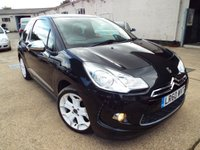 USED 2010 60 CITROEN DS3 1.6 BLACK AND WHITE 3d 120 BHP