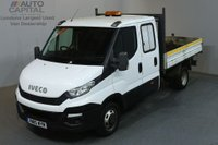 USED 2015 15 IVECO-FORD DAILY 2.3 35C13D 126 BHP LWB D/CAB TWIN WHEEL TIPPER ONE OWNER SPARE KEY